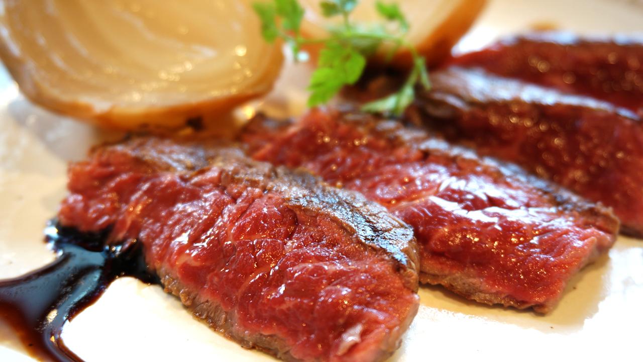 特選!牛ランプ肉のグリルステーキ