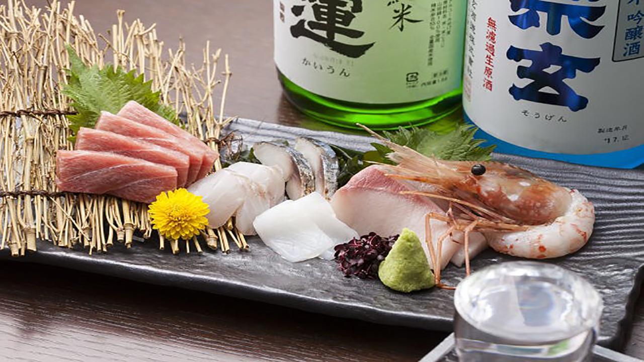 全国から仕入れた鮮魚