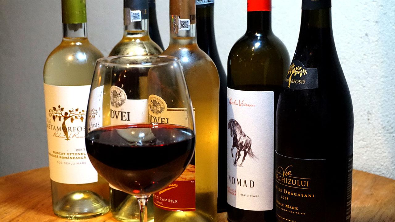希少なルーマニアワイン
